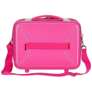 Neceser ABS Movom Save the Planet Fucsia
