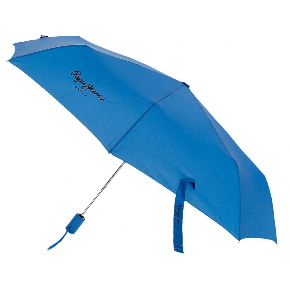 Paraguas Pepe Jeans Dorset Doble Automático Azul