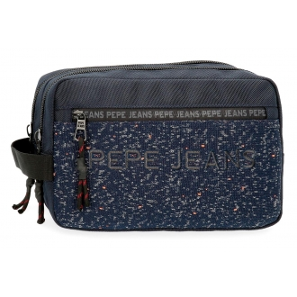 Neceser Pepe Jeans Hike adaptable azul