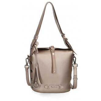 Bolso Bucket Pepe Jeans Angelica Bronce