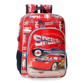 Mochila Escolar Cars Speed Trails 38cm