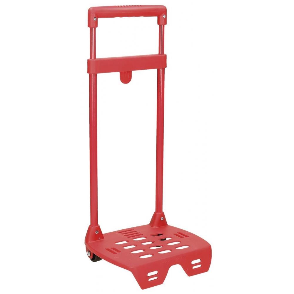 Carro Escolar Mini Roll Road Rojo