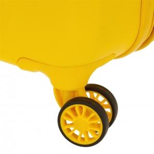 Maleta de cabina Movom Riga rígida 55cm Amarillo