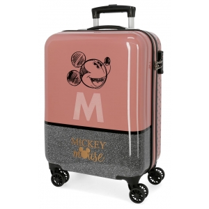 Maleta de cabina Mickey The Blogger rígida 55cm
