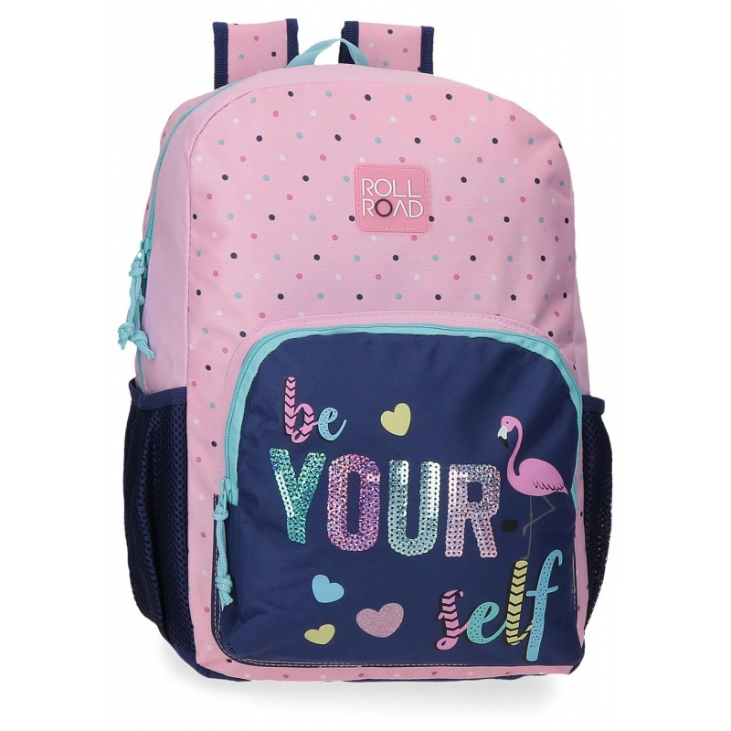 Mochila 40cm Roll Road Be yourself