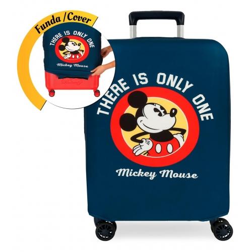 Funda para maleta de cabina Mickey azul