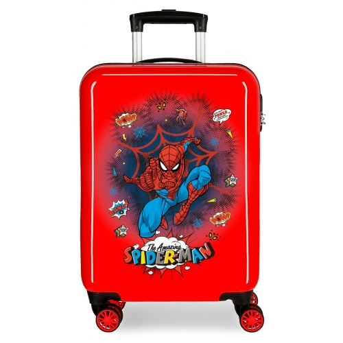 Maleta de Cabina Spiderman Pop rígida 55cm