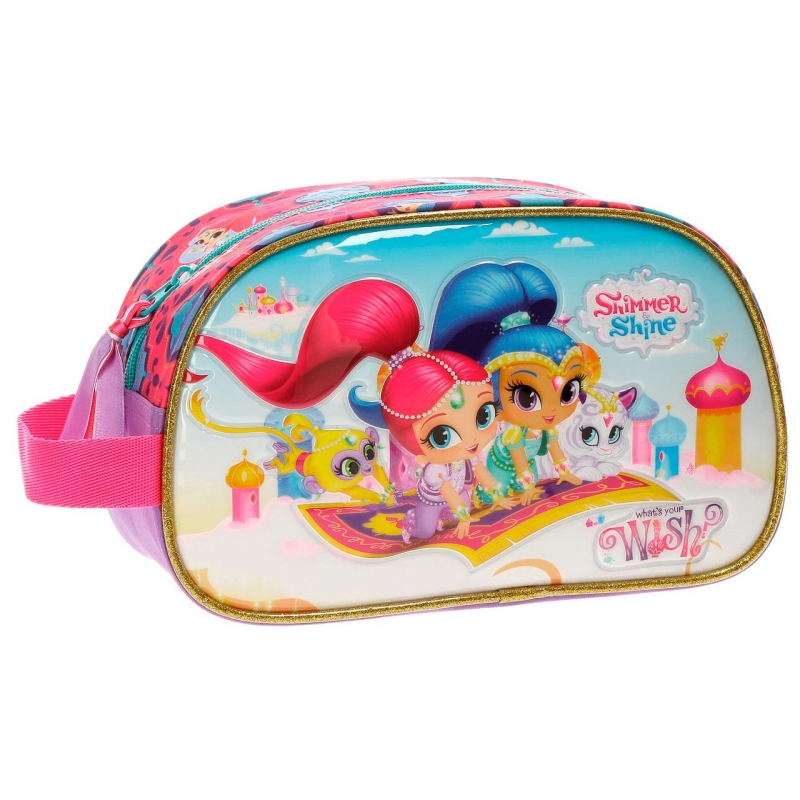 Neceser Shimmer and Shine Wish adaptable a trolley