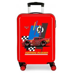 Maleta de cabina rígida Lightning McQueen Roja
