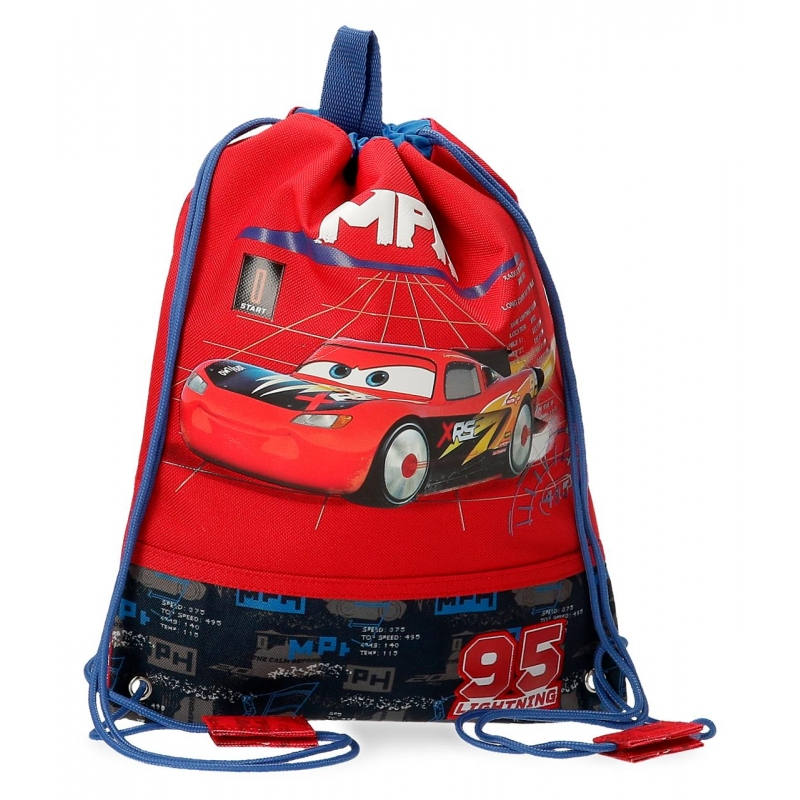 Bolsa de la merienda Cars Rocket Racing