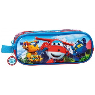 Estuche doble compartimento Super Wings Mountain