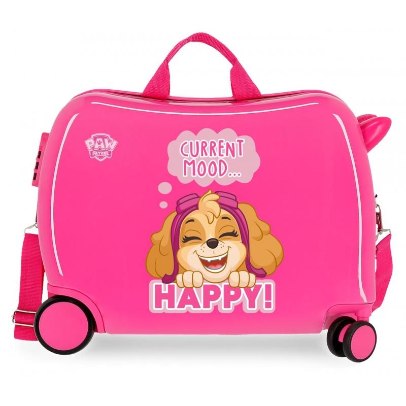 Maleta Infantil La Patrulla Canina Fucsia
