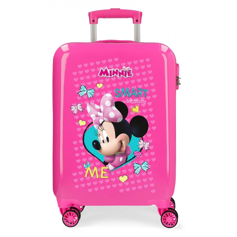Maleta de cabina Minnie Happy Helpers rígida 55cm