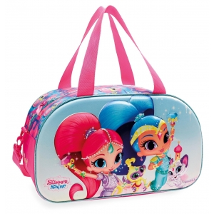 Bolsa de viaje Shimmer and Shine Twinsies 44cm frontal 3D