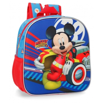 Mochila guardería frontal 3D World Mickey