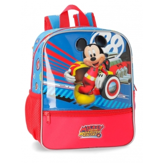 Mochila 28cm adaptable a carro World Mickey