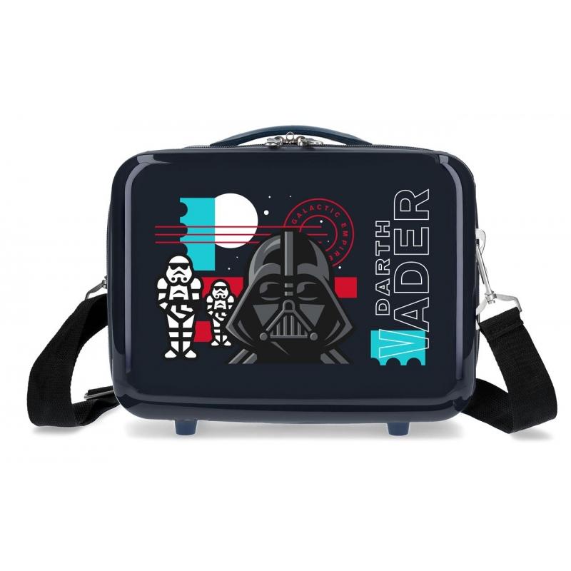 Neceser ABS Star Wars Galactic Empire Adaptable Azul Marino