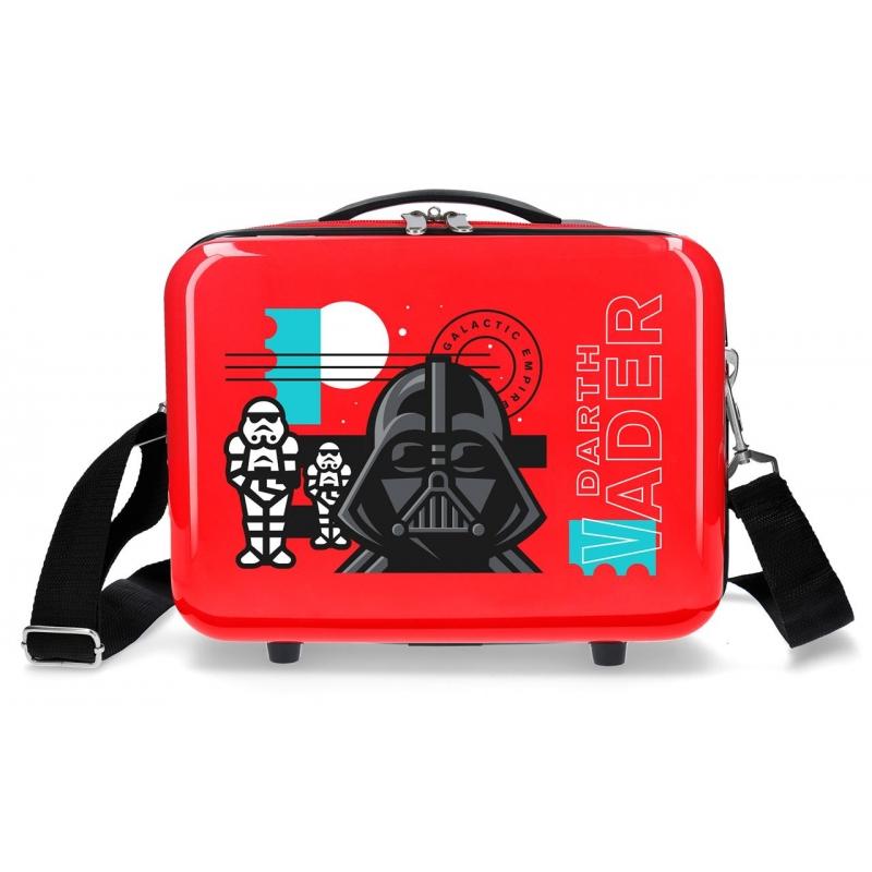 Neceser ABS Star Wars Galactic Empire Adaptable Rojo