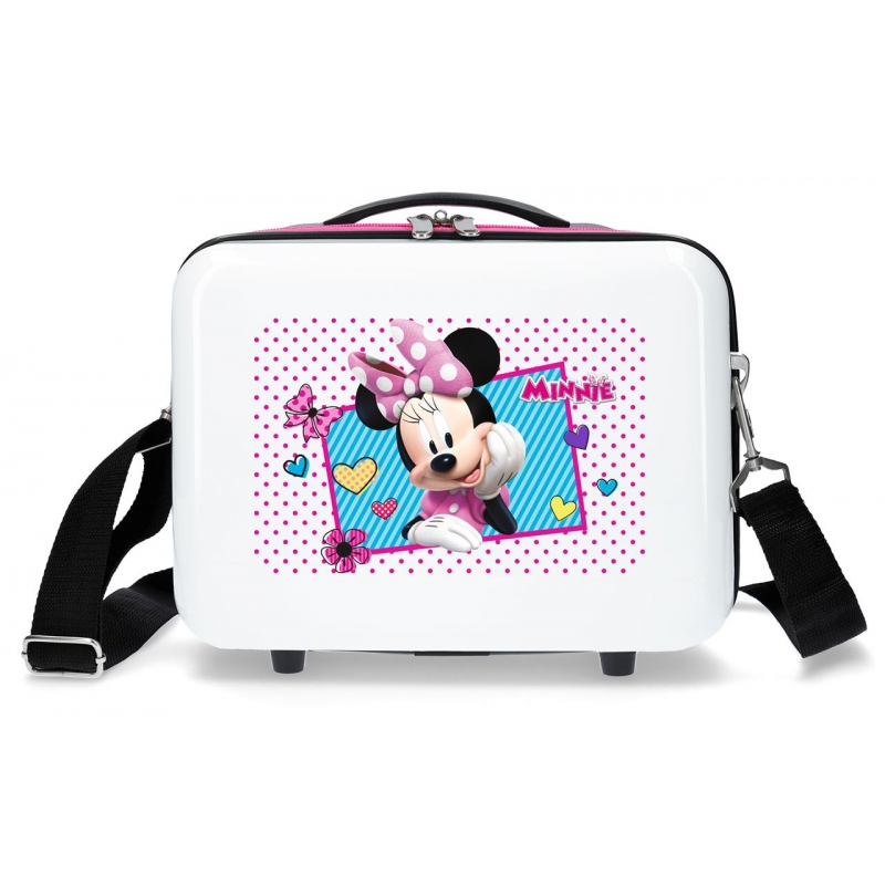 Neceser ABS Minnie Joy  Adaptable Fucsia