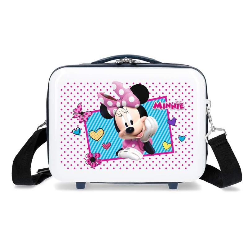 Neceser ABS Minnie Joy  Adaptable Azul