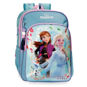 Mochila Escolar Frozen Awesome Moves 42cm
