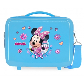 Neceser ABS Minnie Super helpers adaptable Azul
