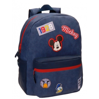 Mochila Mickey Parches