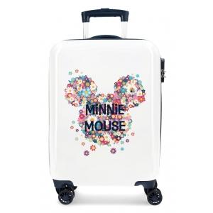 Maleta de cabina Minnie rígida 55cm Sunny Day Flores Azul