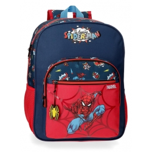 Mochila Escolar Spiderman Pop Adaptable