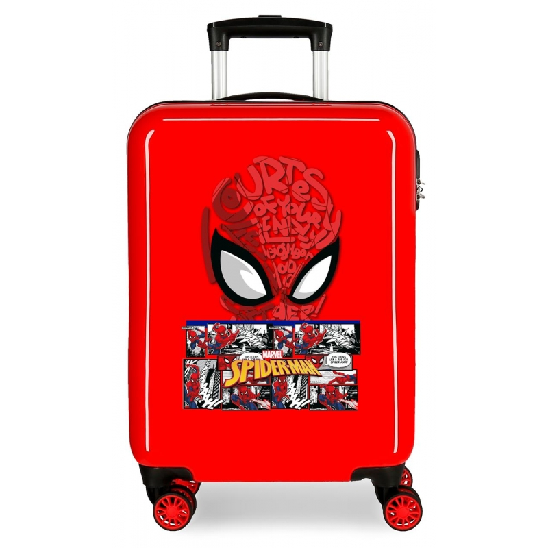 Maleta de Cabina Spiderman Comic rígida 55cm
