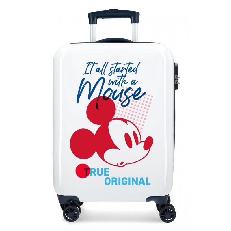 Maleta de cabina Mickey Magic original rígida 55cm 55cm