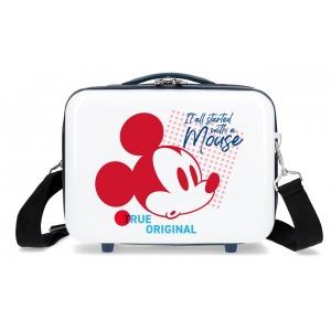 Neceser adaptable a trolley Mickey Magic original