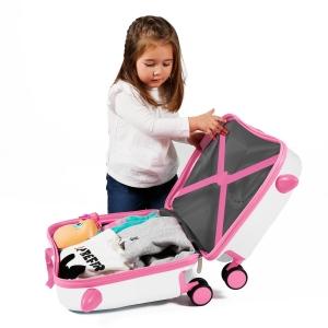 Maleta infantil 2 ruedas multidireccionales Movom Mariposas