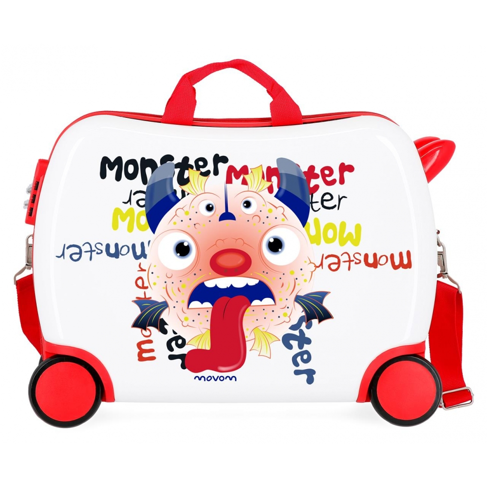 Maleta infantil Movom Monsters