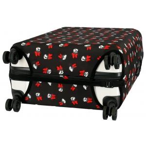 Funda para maleta de cabina Minnie negra