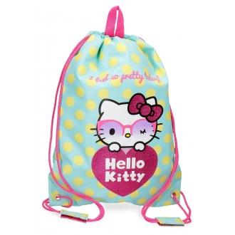 Gym Sac Hello Kitty Pretty Glasses