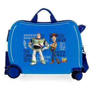Maleta infantil 2 ruedas multidireccionales Toy Story You´ve got a Friend on me Azul