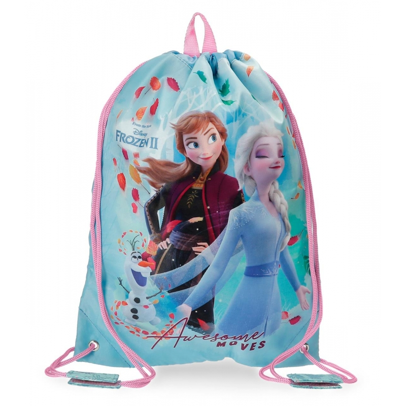 Mochila saco Frozen Awesome Moves