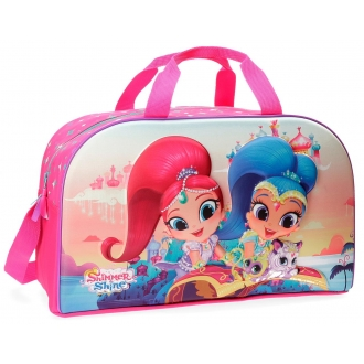 Bolsa de viaje Shimmer and Shine Shiny 45cm frontal 3D