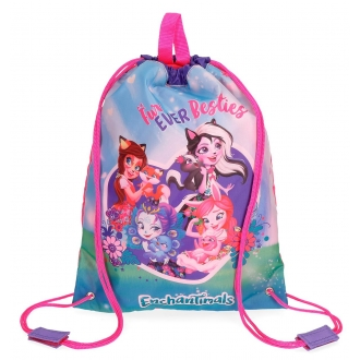Mochila saco Enchantimals Fur Ever Besties