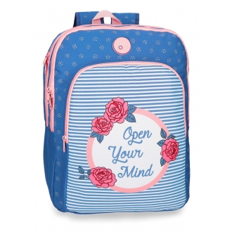 Mochila doble compartimento Roll Road Rose