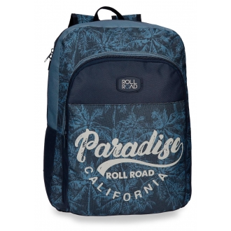 Mochila escolar 40cm adaptable Roll Road Palm