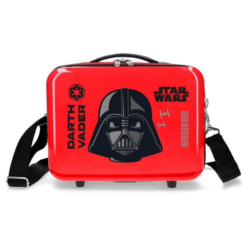 Neceser ABS Star Wars Darth Vaider Adaptable Rojo