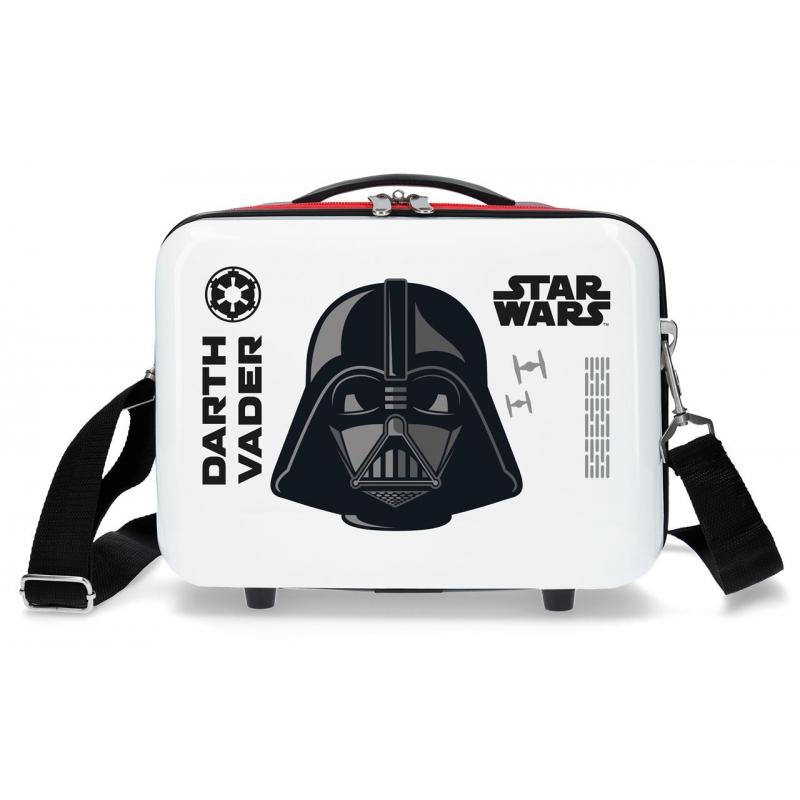 Neceser ABS Star Wars Darth Vaider Adaptable Blanco