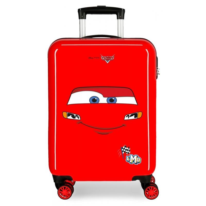 Maleta de cabina rígida Cars LMQ Rojo