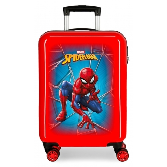Maleta de cabina Spiderman Black rígida 55cm