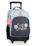 Mochila 2 Ruedas Enso Girl Power