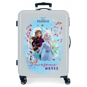 Maleta Mediana Frozen Awesome Moves rígida 68cm