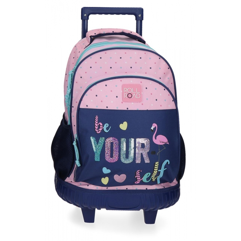 Mochila con ruedas Roll Road Be yourself 2R