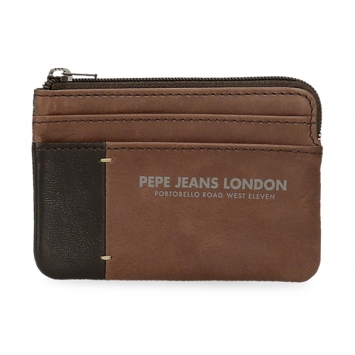 Monedero Pepe Jeans Cutted Marrón